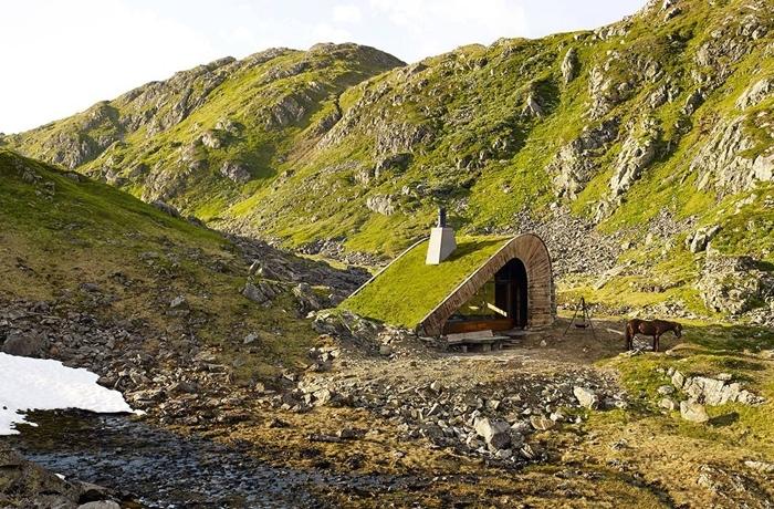 Bajkoviti zeleni krovovi Norveške (12)