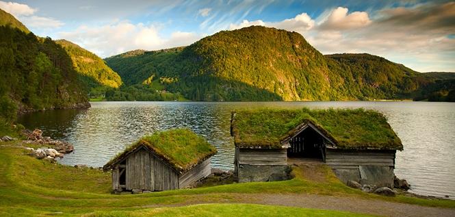 Bajkoviti zeleni krovovi Norveške 665 ll