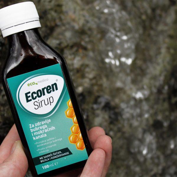Ecomedico Ecoren sirup - Prirodna pomoć bubrezima