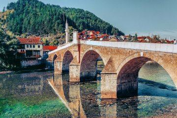 konjička ćuprija - kameni most konjic