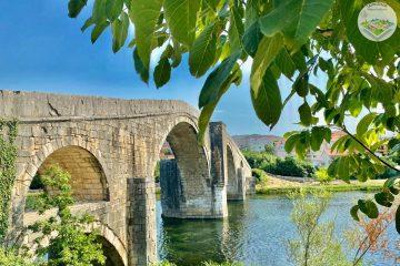 Arslanagića most je zadužbina Mehmeda – paše Sokolovića, a podignut je 1574. godine u čast njegovog poginulog sina.